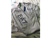 New with tags ea7 emporio Armani tracksuit large black summer material
