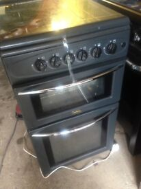 Black Gas cooker 50cm.,,,Mint free Delivery