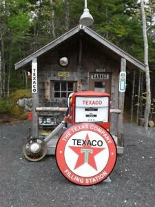 CLASSIC  GASOLINE SIGNS AND COLLECTIBLES