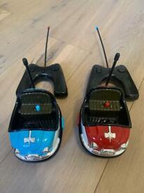 Two remote control bumper car