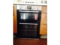 Lamona double oven less than 1year old