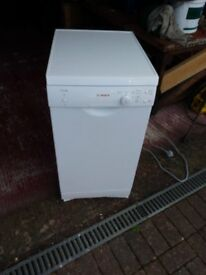 FAULTY BOSCH CLASSIXX SLIMLINE DISHWASHER, NEARLY 3 YEARS OLD
