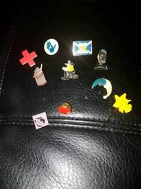 Collection of the pins