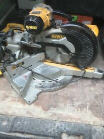 Dewalt chopsaw 1 year old excellent condition