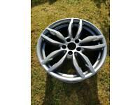 bmw alloys 622m 19 inch fresh powder coat in ferric grey