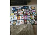 40 dvds and blurays