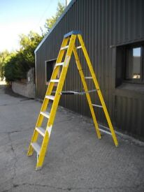 7 Tread Youngman's Electricians Fibreglass step ladder £60.00