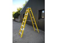 7 Tread Youngman's Electricians Fibreglass step ladder £60.00