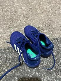 Adidas astroturf boots size 12
