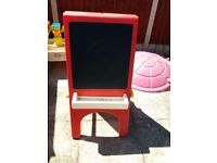 Little tikes double sided easel