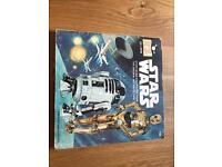 Star Wars read along record /book
