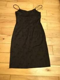 Black Party Dress, River Island, size 10