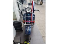 Vespa px 125 low mileage, electric start, m.o.t till October good condition