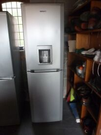 Beko silver fridge freezer
