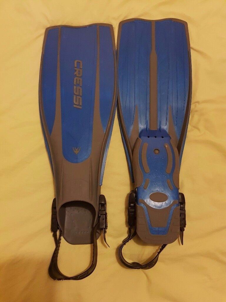 Cressi Sub Pro Light Fins Blue XL