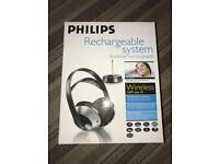 Philips wireless HiFi headphones