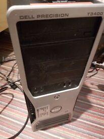Dell T3400 Workstation - Windows 10 Home 64bit Registered