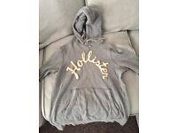Hollister grey jumper