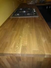 4M Solid Oak worktop