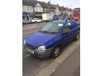 Vauxhall Corsa van spares or repair (2000-2001)