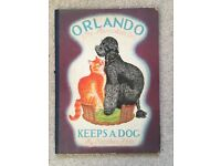 Orlando Keeps a Dog First Edition Rare Collectible Childrens Book