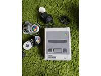 Super Nintendo Snes Console Bundle