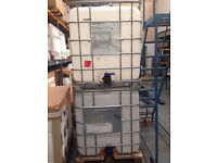 2 x 750 Litre IBCs for Sale - £40 Each, Free to Collect