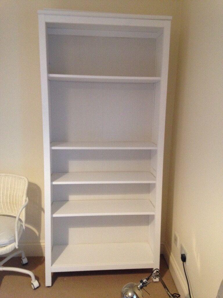 Ikea HEMNES Bookcase White Satin