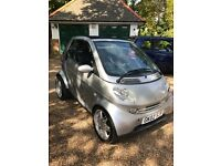 2002 (02) SMART CITY PASSION 50 CONVERTIBLE AUTOMATIC ONLY 43475 MILES WARRANTED MOT EXP 02/2018