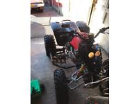 Smc quadzilla 250cc quad (road legal)