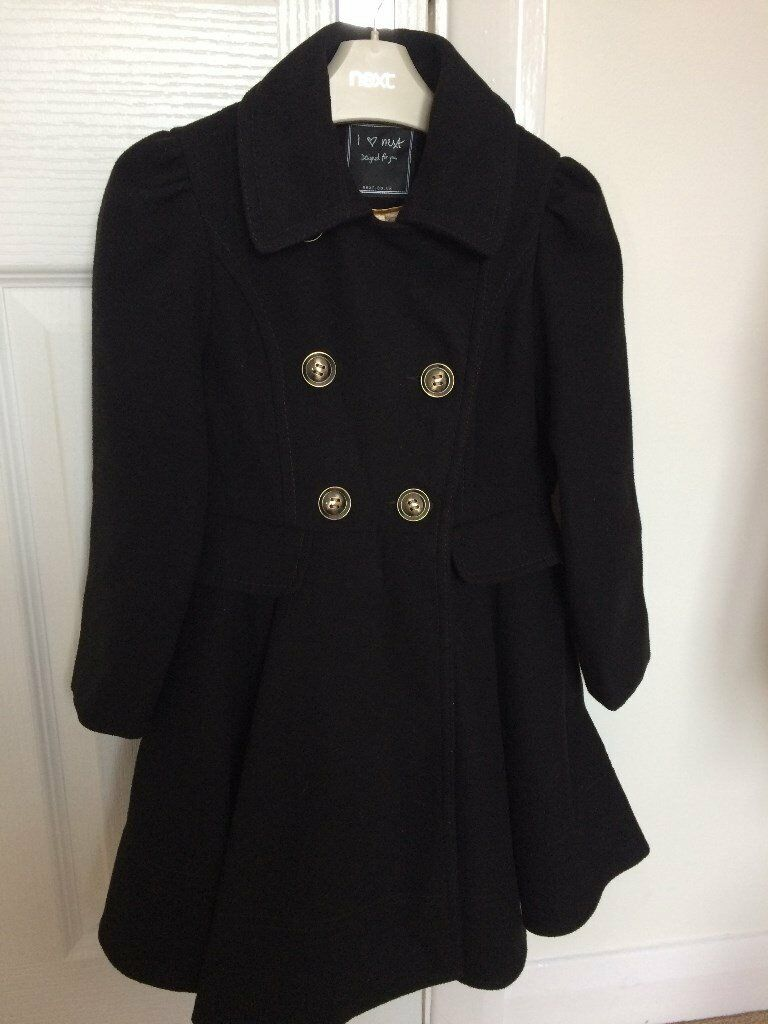 Girls NEXT winter coat 5-6 year old