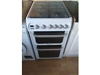 HOTPOINT ULTIMA DOUBLE OVEN GAS COOKER