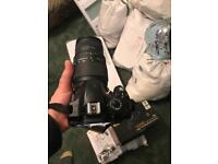 Nikon D3200 like new used a few times for family party