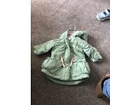 Girls coat age 0-3