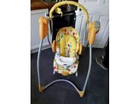 Graco 3 in 1 bounc3 swing chair
