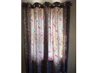 "2 Pairs of NEXT lined CURTAINS 53"" x 72"""