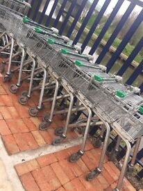 SHOPPING TROLLEYS SHOPPING BASKETS TROLLEYS FOR STOCK MUST CLEAR