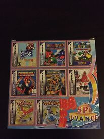 GAME BOY ADVANCE MULTICART 188 GAMES