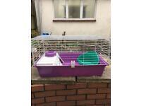 Rabbit cage Guinea pig cage