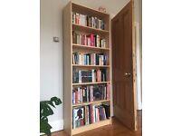 Billy Bookcase in birch veneer - 80x28x202 cm
