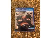 BRAVO TEAM GAME FOR PLAYSTATION VR