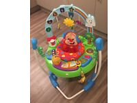 Fisher Price laugh and learn puppy jumperoo, great condition
