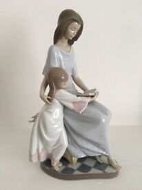 Lladro Bedtime Story - signed and dated