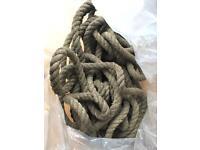 Car tow rope