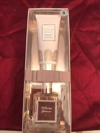 Perfume and body lotion