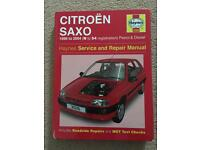 Haynes Manual - Citreon Saxo 1994-2004
