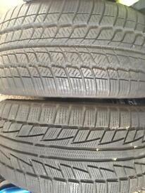 2 x Winter Tyres