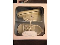 Ralph Lauren Desinger baby shoes size 3.5