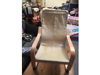 2x children's ikea arm chairs