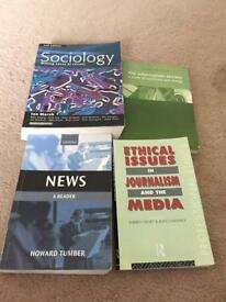 Academic Textbooks For Media Related Courses. From £5.